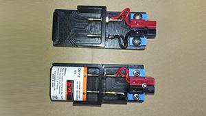 9V电池夹具