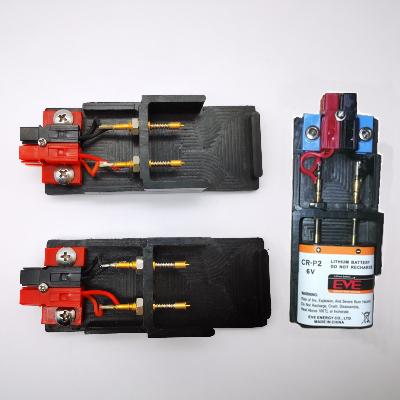 电能表专用电池夹具